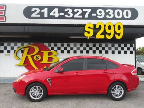 2008 Ford Focus for sale at www.rnbfinance.com in Dallas TX