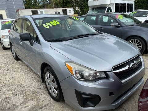 2012 Subaru Impreza for sale at Quality Motors of Germantown in Philadelphia PA