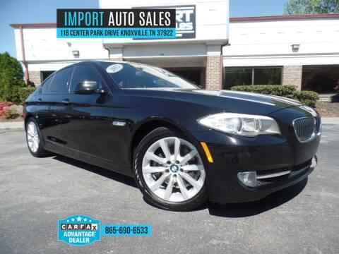 2012 BMW 5 Series for sale at IMPORT AUTO SALES in Knoxville TN