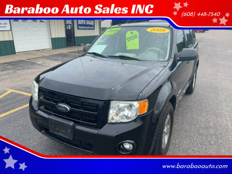 2009 Ford Escape Hybrid for sale at Baraboo Auto Sales INC in Baraboo WI