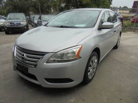 2015 Nissan Sentra for sale at Automax Wholesale Group LLC in Tampa FL