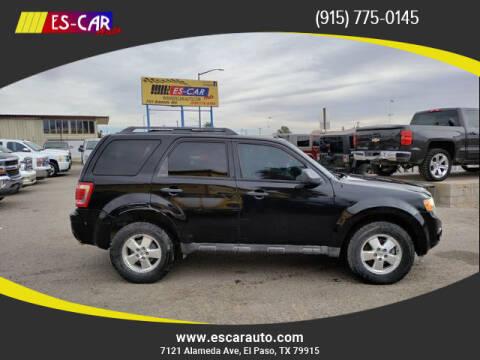 2012 Ford Escape for sale at Escar Auto in El Paso TX