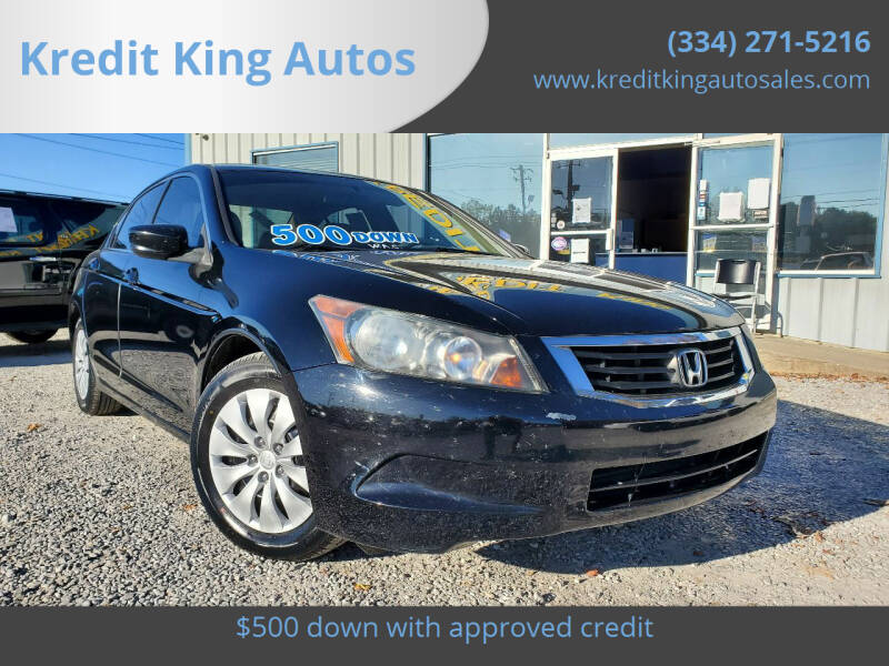2009 Honda Accord for sale at Kredit King Autos in Montgomery AL