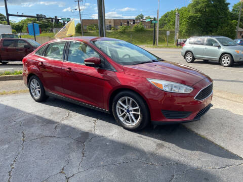 2016 Ford Focus for sale at Brian Jones Motorsports Inc in Danville VA