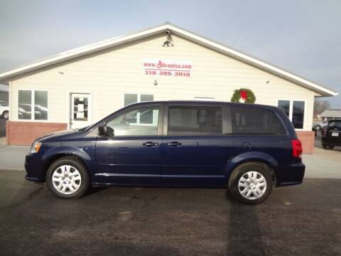 2016 Dodge Grand Caravan for sale at GIBB'S 10 SALES LLC in New York Mills MN