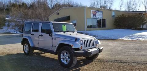2009 Jeep Wrangler JK Unlimited for sale at SCHACHT MOTOR CO in Decorah IA