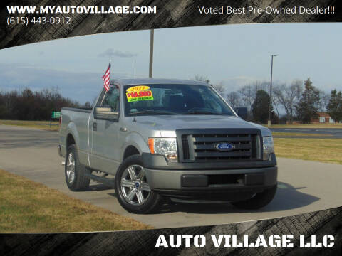 2011 Ford F-150 for sale at AUTO VILLAGE LLC in Lebanon TN