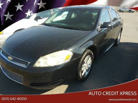 2013 Chevrolet Impala for sale at Auto Credit Xpress - Sherwood in Sherwood AR