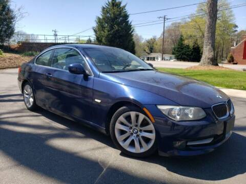 2013 BMW 3 Series for sale at McAdenville Motors in Gastonia NC