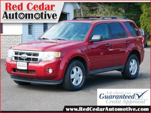 2011 Ford Escape for sale at Red Cedar Automotive in Menomonie WI
