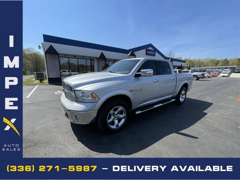 2016 RAM Ram Pickup 1500 for sale at Impex Auto Sales in Greensboro NC