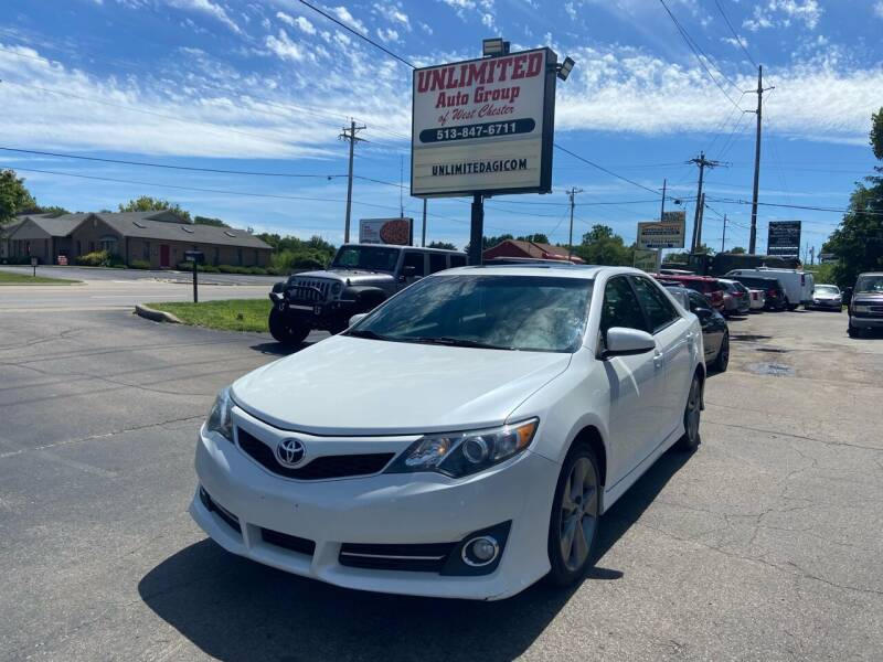 2012 Toyota Camry for sale at Unlimited Auto Group in West Chester OH
