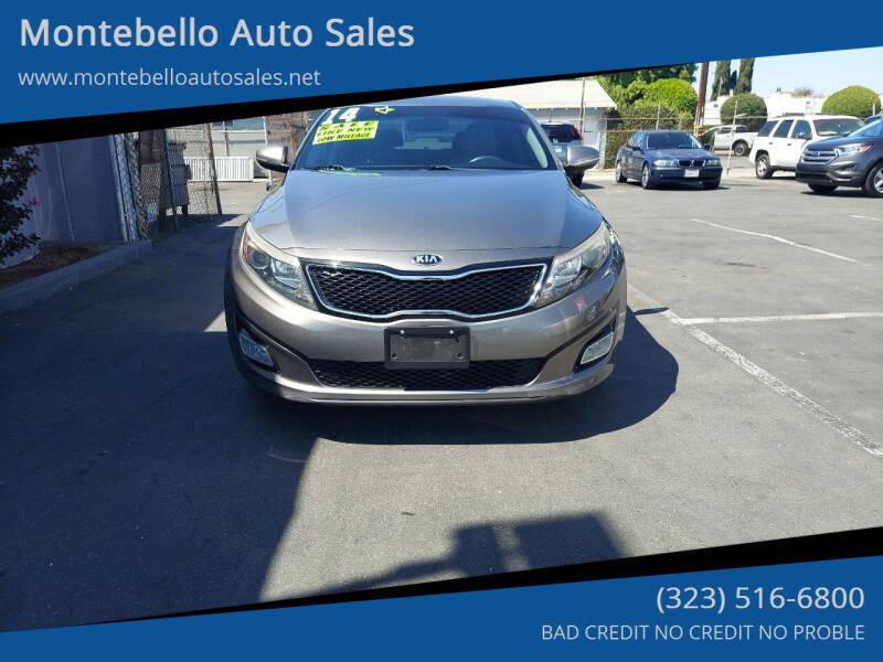 2014 Kia Optima for sale at Montebello Auto Sales in Montebello CA