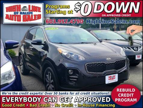 2018 Kia Sportage for sale at High Line Auto Sales of Salem in Salem NH