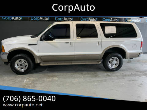 2001 Ford Excursion for sale at CorpAuto in Cleveland GA