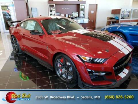 2020 Ford Mustang for sale at RICK BALL FORD in Sedalia MO