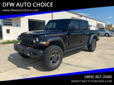 2020 Jeep Gladiator for sale at DFW AUTO CHOICE in Dallas TX