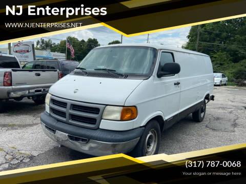 2001 Dodge Ram Cargo for sale at NJ Enterprises in Indianapolis IN