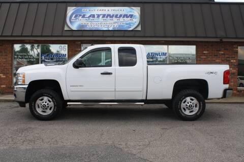 2012 Chevrolet Silverado 2500HD for sale at Platinum Auto World in Fredericksburg VA