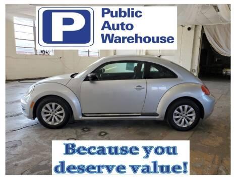 2014 Volkswagen Beetle for sale at Public Auto Warehouse in Pekin IL