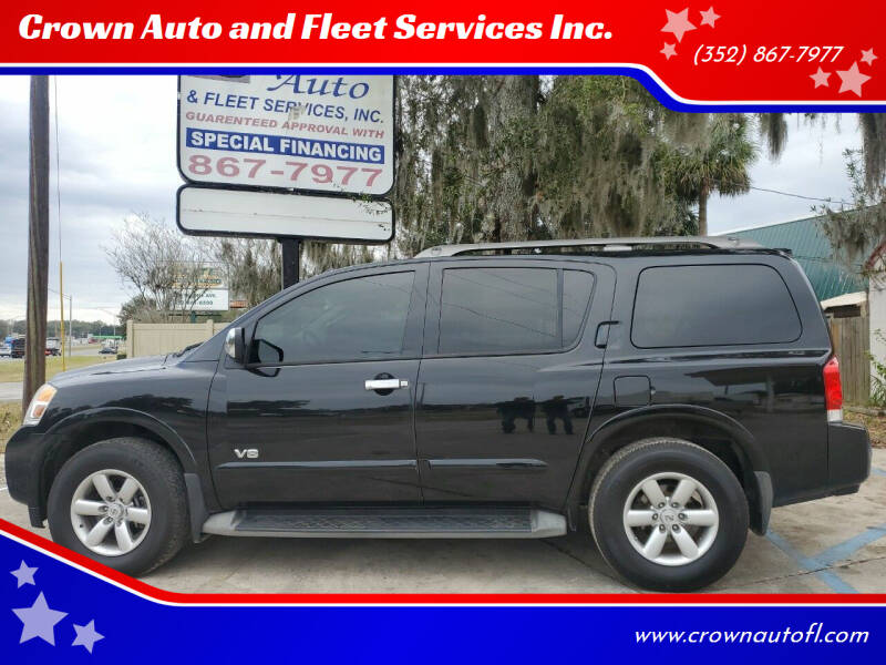 2008 Nissan Armada for sale at Crown Auto and Fleet Services Inc. in Ocala FL