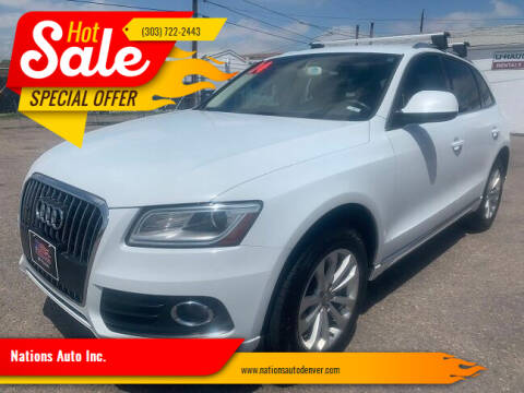 2014 Audi Q5 for sale at Nations Auto Inc. in Denver CO