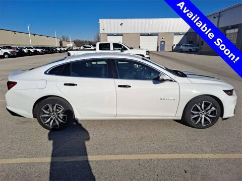 2018 Chevrolet Malibu for sale at LENZ TRUCK CENTER in Fond Du Lac WI