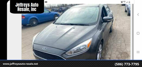 2015 Ford Focus for sale at Jeffreys Auto Resale, Inc in Clinton Township MI
