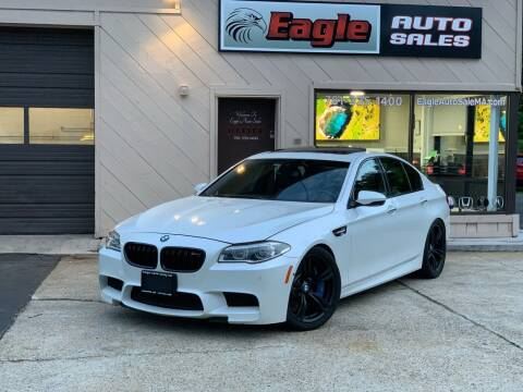 2014 BMW M5 for sale at Eagle Auto Sales LLC in Holbrook MA