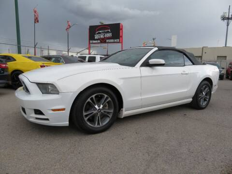 2013 Ford Mustang for sale at Moving Rides in El Paso TX