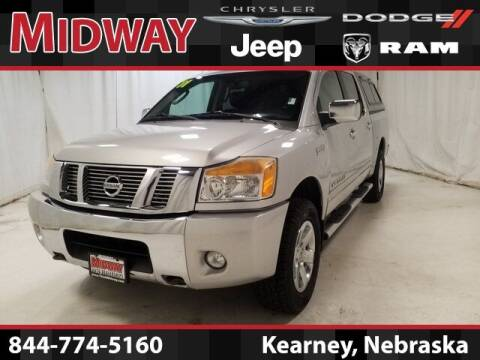 2011 Nissan Titan for sale at MIDWAY CHRYSLER DODGE JEEP RAM in Kearney NE