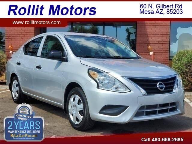 2015 Nissan Versa for sale at Rollit Motors in Mesa AZ