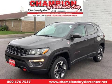 2018 Jeep Compass for sale at CHAMPION CHRYSLER CENTER in Rockwell City IA