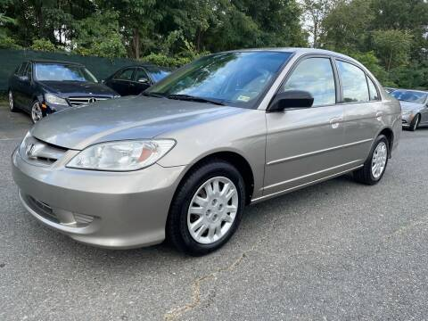 2004 Honda Civic for sale at Dream Auto Group in Dumfries VA
