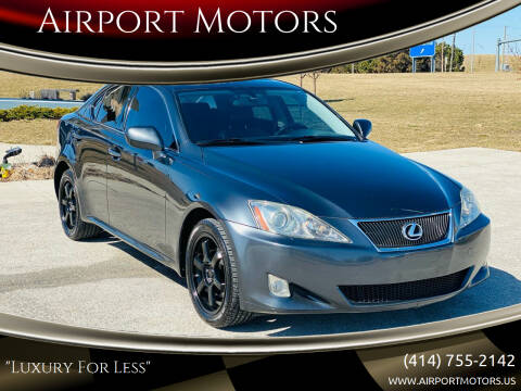 2008 Lexus IS 250 for sale at Airport Motors in Saint Francis WI