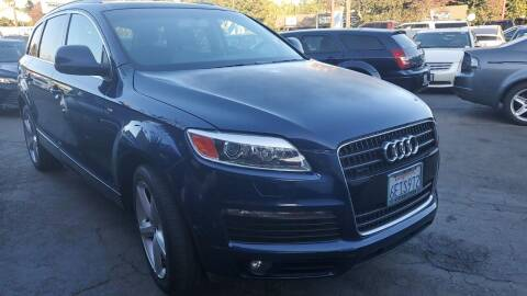2009 Audi Q7 for sale at McHenry Auto Sales in Modesto CA