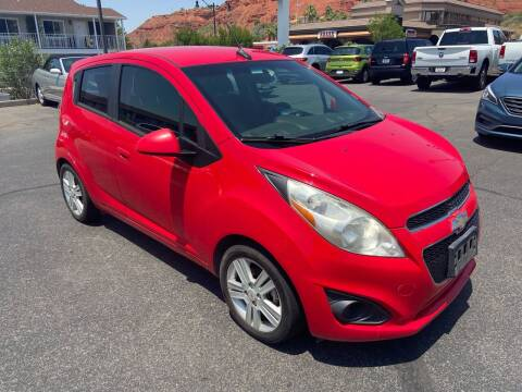 2013 Chevrolet Spark for sale at Boulevard Motors in Saint George UT