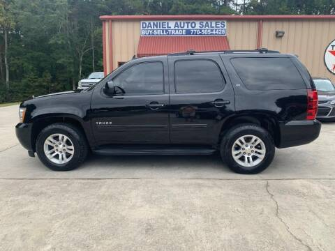 2013 Chevrolet Tahoe for sale at Daniel Used Auto Sales in Dallas GA