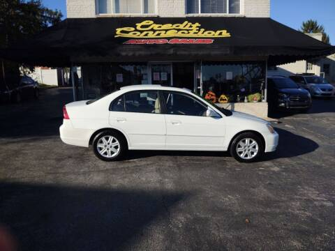2003 Honda Civic for sale at Credit Connection Auto Sales Inc. YORK in York PA