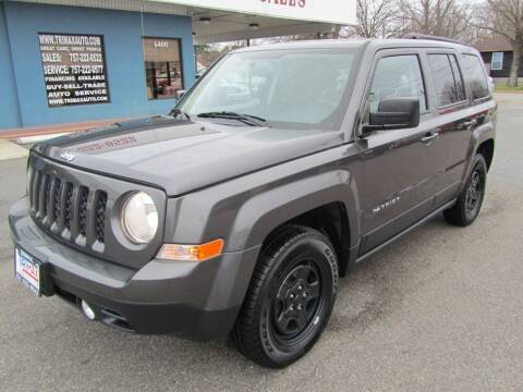 2016 Jeep Patriot for sale at Trimax Auto Group in Norfolk VA