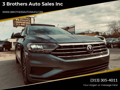 2019 Volkswagen Jetta for sale at 3 Brothers Auto Sales Inc in Detroit MI