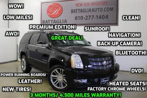 2014 Cadillac Escalade for sale at Battaglia Auto Sales in Plymouth Meeting PA