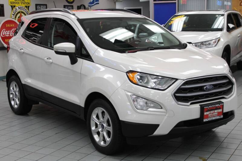 2018 Ford EcoSport for sale at Windy City Motors in Chicago IL