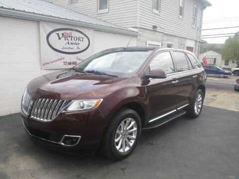 2012 Lincoln MKX for sale at VICTORY AUTO in Lewistown PA