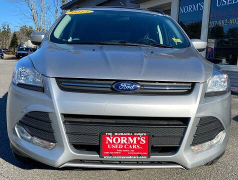 2015 Ford Escape for sale at NORM'S USED CARS INC - Trucks By Norm's in Wiscasset ME