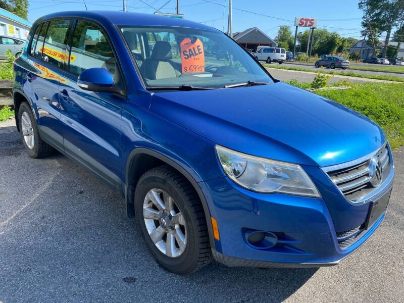 2009 Volkswagen Tiguan for sale at EAST CHESTER AUTO GROUP INC. in Kingston NY