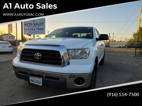 2007 Toyota Tundra for sale at A1 Auto Sales in Sacramento CA