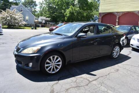 2009 Lexus IS 250 for sale at Absolute Auto Sales, Inc in Brockton MA