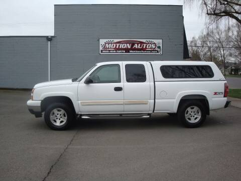 2007 Chevrolet Silverado 1500 Classic for sale at Motion Autos in Longview WA
