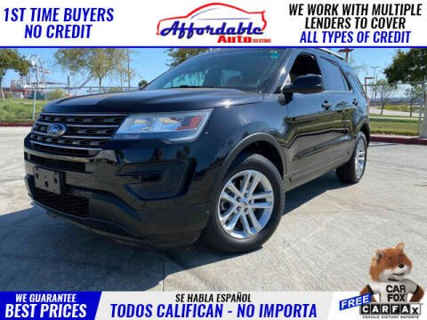 2017 Ford Explorer for sale at Affordable Auto Solutions in Wilmington CA